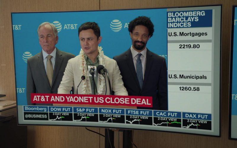 Bloomberg TV Channel and AT&T in Silicon Valley Season 6 Episode 6 (1)