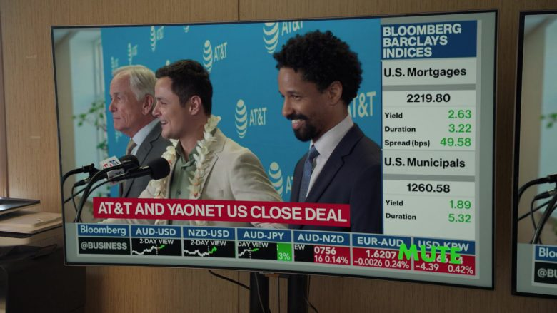 Bloomberg TV Channel and AT&T in Silicon Valley Season 6 Episode 6 (2)