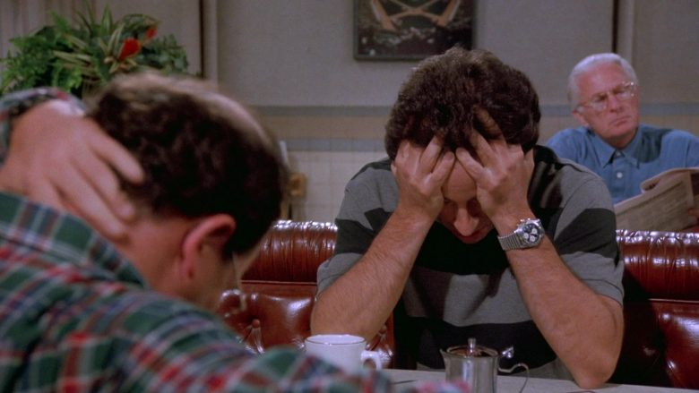 Breitling Watch Worn by Jerry Seinfeld in Seinfeld Season 7 Episode 1 The Engagement (1)