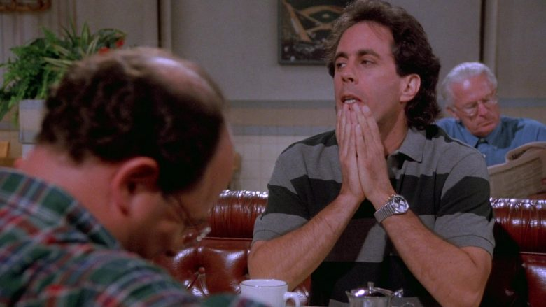 Breitling Watch Worn by Jerry Seinfeld in Seinfeld Season 7 Episode 1 The Engagement (2)