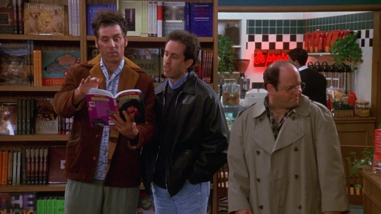 Brentano's Store in Seinfeld Season 9 Episode 17 The Bookstore (2)