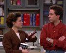 Breyers Ice Cream Enjoyed by Julia Louis-Dreyfus as Elaine Benes in Seinfeld Season 2 Episode 6 (2)