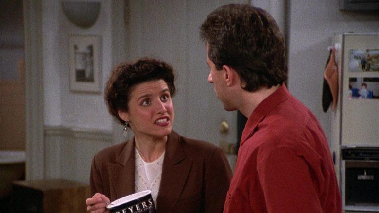 Breyers Ice Cream Enjoyed by Julia Louis-Dreyfus as Elaine Benes in Seinfeld Season 2 Episode 6 (6)