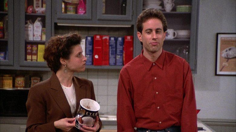 Breyers Ice Cream Enjoyed by Julia Louis-Dreyfus as Elaine Benes in Seinfeld Season 2 Episode 6 (9)