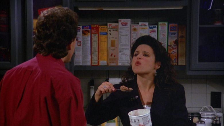 Breyers Ice Cream Enjoyed by Julia Louis-Dreyfus as Elaine Benes in Seinfeld Season 5 Episode 4 (1)