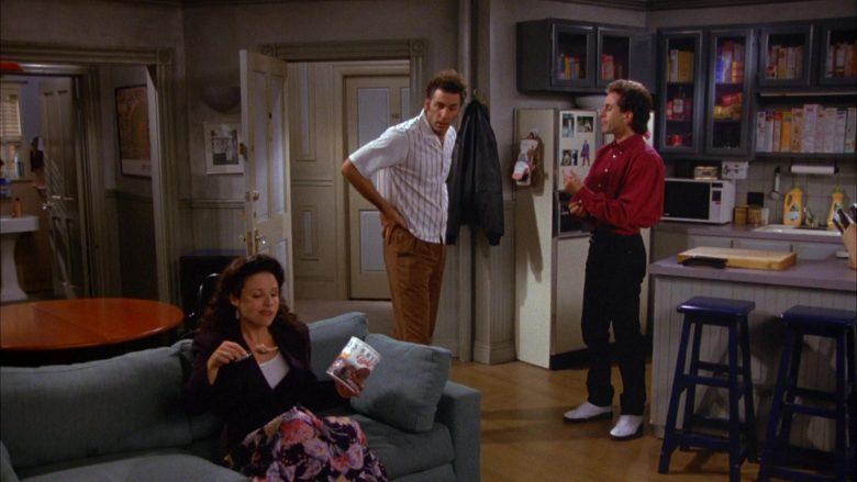 Breyers Ice Cream Enjoyed by Julia Louis-Dreyfus as Elaine Benes in Seinfeld Season 5 Episode 4 (2)