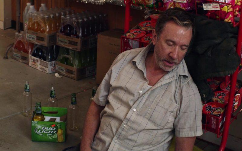 Bud Light Lime Beer Enjoyed by Tim Allen in El Camino Christmas