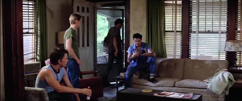 Budweiser Beer Bottle Held by Emilio Estevez in The Outsiders (1)
