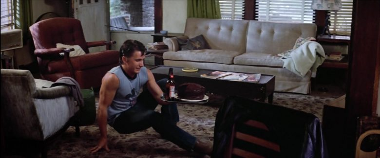 Budweiser Beer Bottle Held by Emilio Estevez in The Outsiders (3)