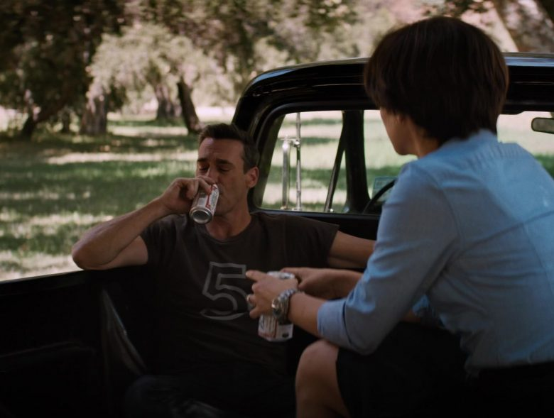 Budweiser Beer Enjoyed by Jon Hamm in Lucy in the Sky (2019) Movie