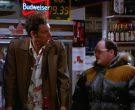 Budweiser Beer Neon Sign in Seinfeld Season 5 Episode 13 Th...