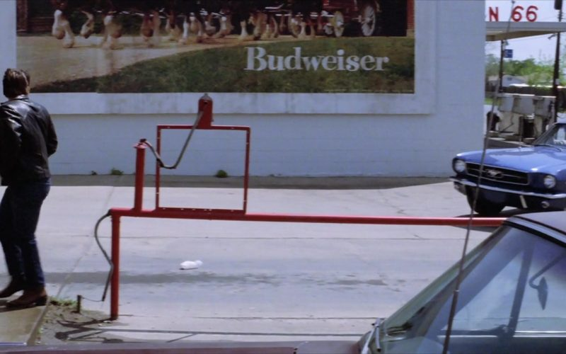 Budweiser Beer Outdoor Advertising in The Outsiders
