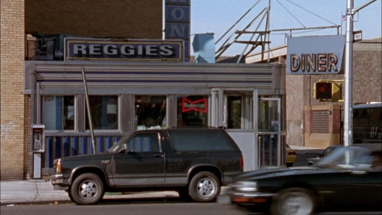 Budweiser Beer Sign in Seinfeld Season 6 Episode 7 The Soup