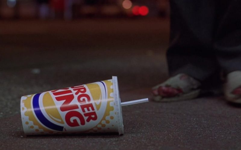 Burger King Paper Cup in K-9 P.I. (2002)
