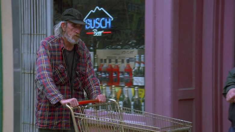 Busch Beer Neon Sign in Seinfeld Season 7 Episode 21-22 The Bottle Deposit (1)