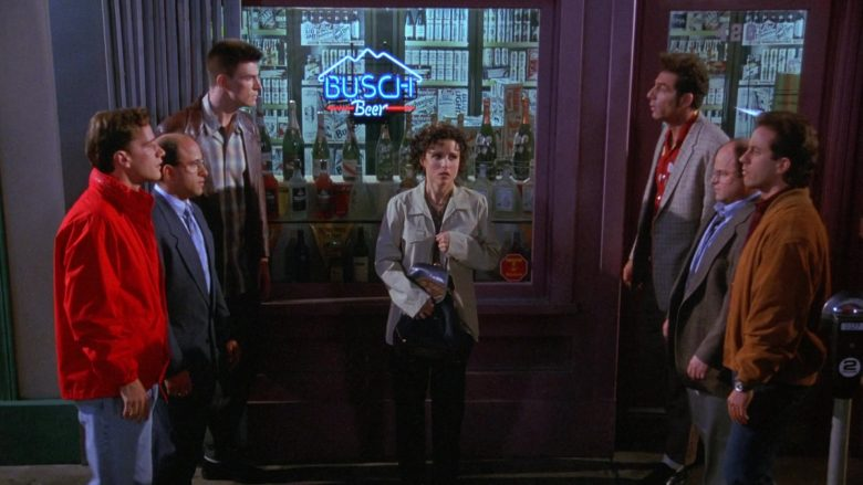 Busch Beer Sign in Seinfeld Season 9 Episode 21 The Chronicle (2)