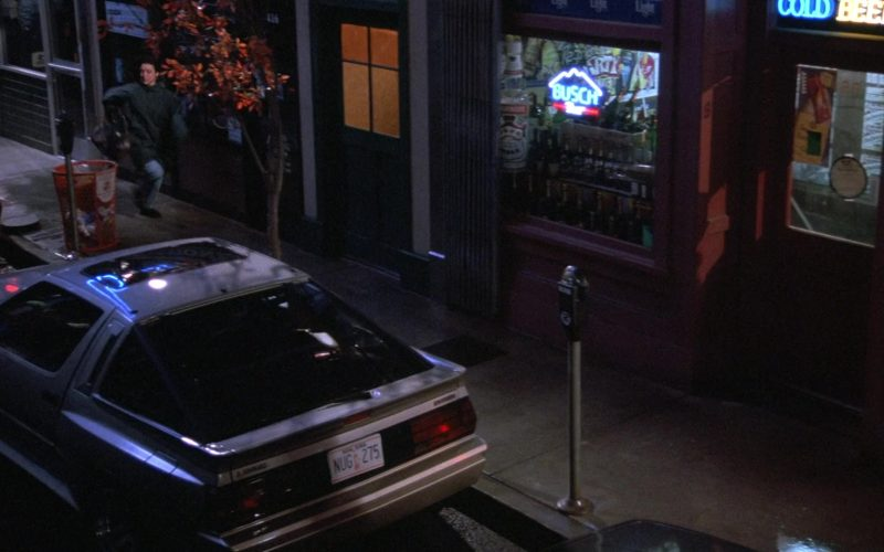 Busch Neon Sign in Seinfeld Season 7 Episode 4 The Wink