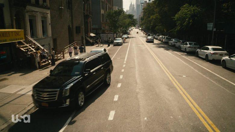 Cadillac Escalade Black Car in Mr. Robot Season 4 Episode 13 Series Finale Part 2 (4)