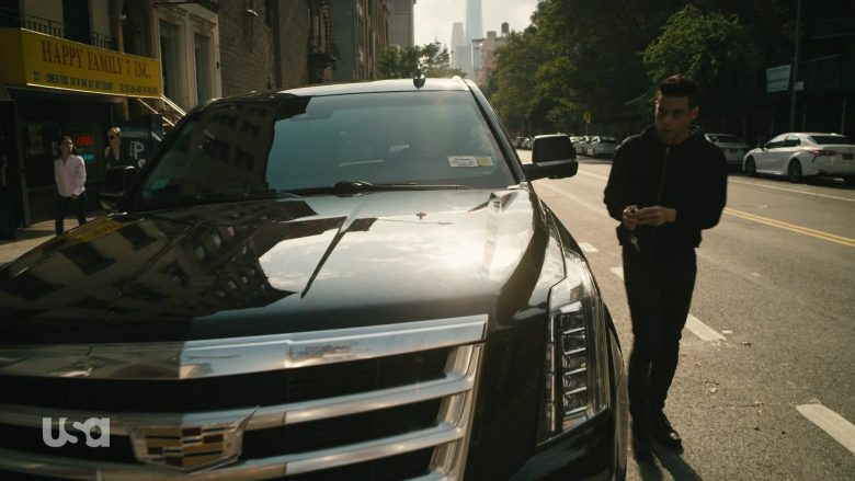 Cadillac Escalade Black Car in Mr. Robot Season 4 Episode 13 Series Finale Part 2 (5)