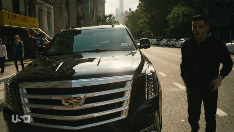 Cadillac Escalade Black Car in Mr. Robot Season 4 Episode 13 Series Finale Part 2 (6)