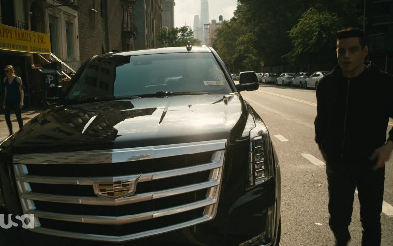 Cadillac Escalade Black Car in Mr. Robot Season 4 Episode 13 Series Finale Part 2 (6)