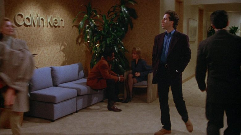 Calvin Klein in Seinfeld Season 4 Episode 13 The Pick (2)