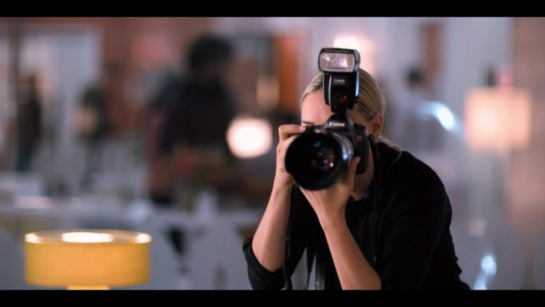 Canon Camera in The L Word Generation Q Season 1 Episode 4 LA Times