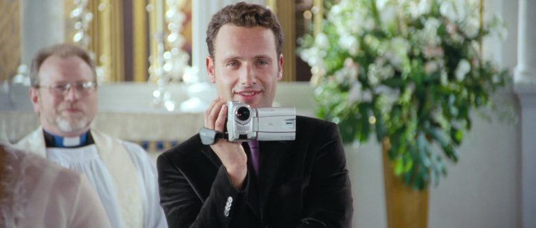 Canon Video Camera Used by Andrew Lincoln in Love, Actually (1)