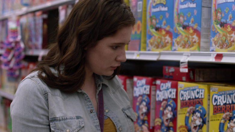 Cap'n Crunch Crunch Berries Breakfast Cereal in Shameless Season 10 Episode 4