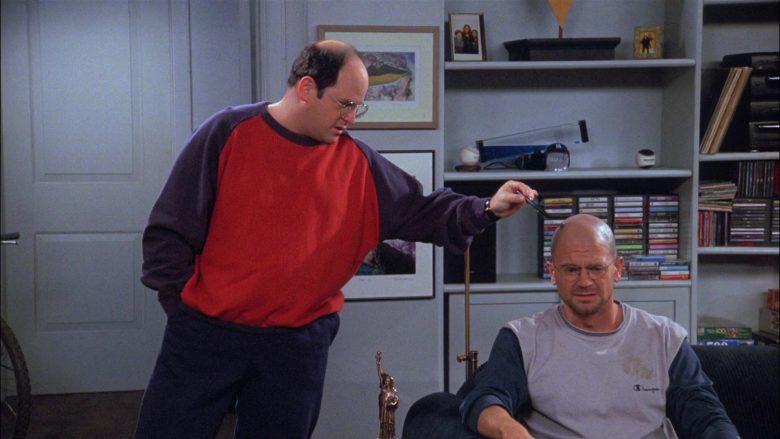 Champion Shirt For Men in Seinfeld Season 8 Episode 11 The Little Jerry