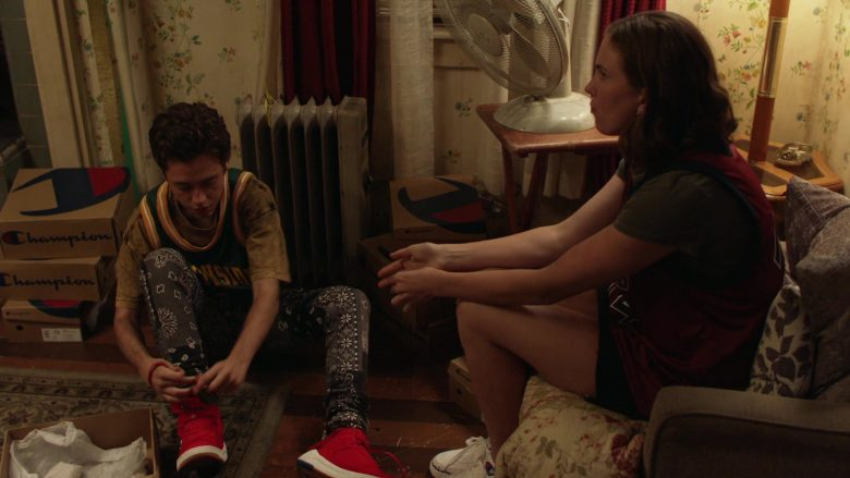 Champion Shoe Boxes in Shameless Season 10 Episode 5 Sparky (5)