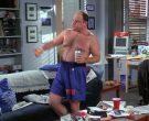 Champion x Knicks Blue Shorts For Men Worn by Jason Alexande...