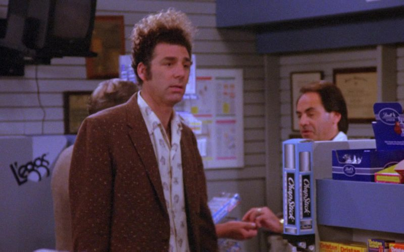 ChapStick in Seinfeld Season 6 Episode 22 The Diplomat's Club