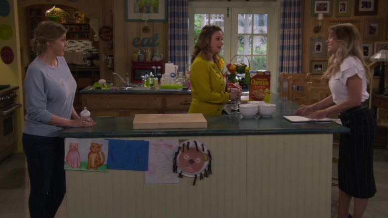 Cheerios Cereal By General Mills in Fuller House Season 5 Episode 3 Family Business
