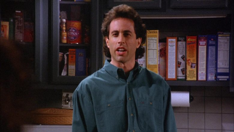 Cheerios Cereal in Seinfeld Season 6 Episode 19 The Jimmy