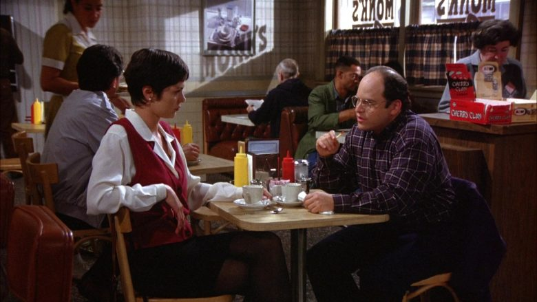 """Cherry Clan Candies in Seinfeld Season 6 Episode 2 """"The Big Salad"""" (1994) - TV Show Product Placement"""