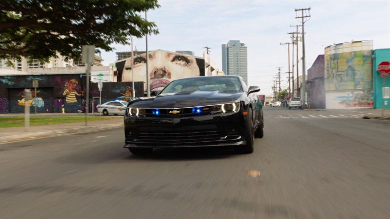 Chevrolet Camaro Black Car in Hawaii Five-0 Season 10 Episode 11 (1)