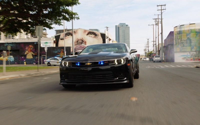 Chevrolet Camaro Black Car in Hawaii Five-0 Season 10 Episode 11 (1)