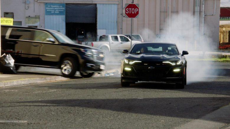 Chevrolet Camaro Black Car in Hawaii Five-0 Season 10 Episode 11 (3)