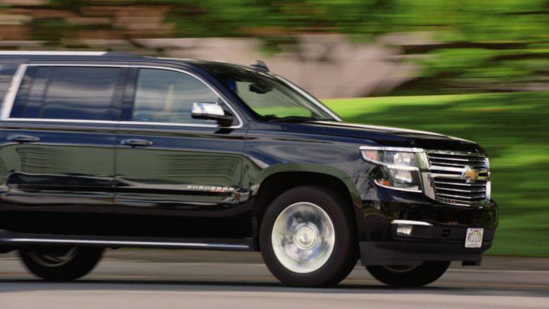 Chevrolet Suburban Black SUV in Hawaii Five-0 Season 10 Episode 11