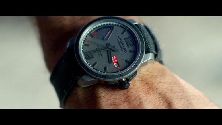 Chopard Chronometer Grey Wrist Watch Worn by Ryan Reynolds in 6 Underground