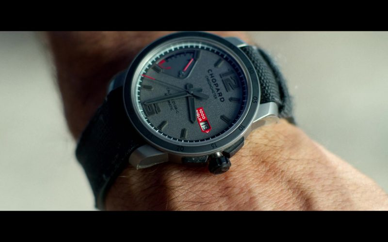 Chopard Chronometer Grey Wrist Watch Worn by Ryan Reynolds in 6 Underground