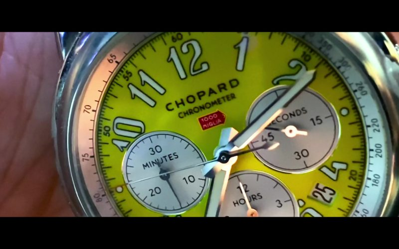 Chopard Chronometer Watch Used by Adria Arjona in 6 Underground Movie (1)