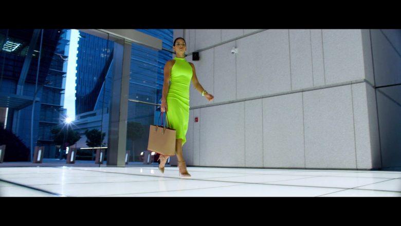Christian Louboutin Handbag and Pumps Worn by Adria Arjona in 6 Underground (2)