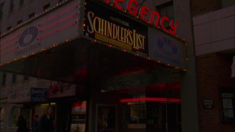 Cineplex Odeon in Seinfeld Season 5 Episode 18-19 The Raincoats