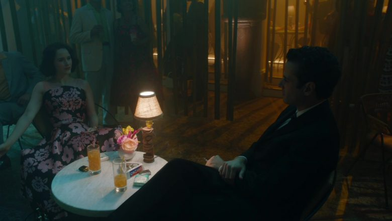 Cinzano Vermouth Ashtray in The Marvelous Mrs. Maisel Season 3 Episode 5 (1)