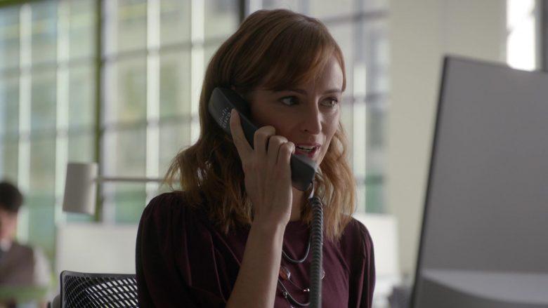 Cisco Telephone in Bull Season 4 Episode 10 Imminent Danger (2)