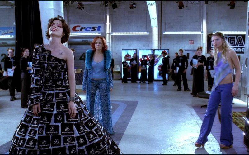 Clearasil and Crest in Josie and the Pussycats (2001)