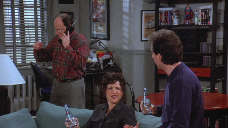 Clearly Canadian Drink Enjoyed by Julia Louis-Dreyfus as Elaine Benes in Seinfeld Season 7 Episode 19 (2)