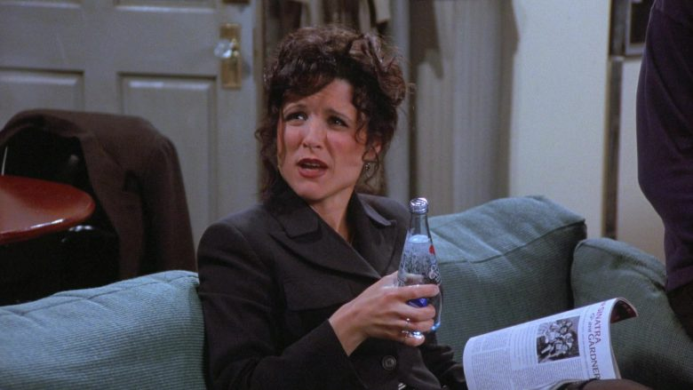 Clearly Canadian Drink Enjoyed by Julia Louis-Dreyfus as Elaine Benes in Seinfeld Season 7 Episode 19 (3)